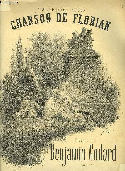 CHANSON DE FLORIAN pour chant et piano
