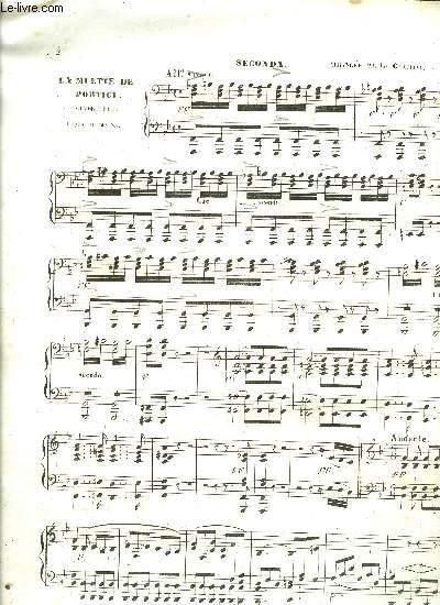 LA MUETTE DE PORTICI piano à quatre mains