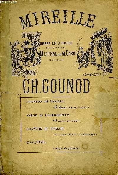 CHANSON DE MAGALI tiré de l'opéra en trois actes