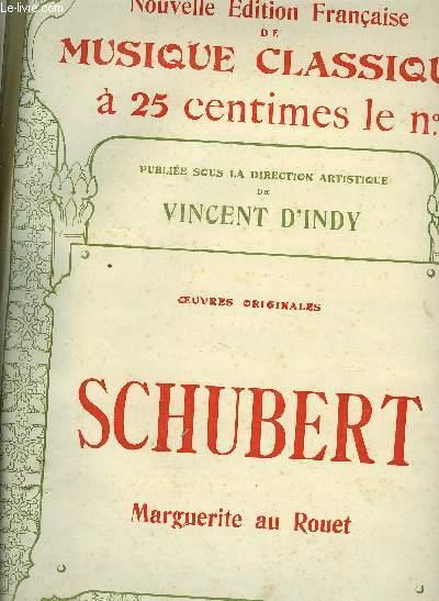 MARGUERITE AU ROUET PARTITION POUR LE CHANT ET MELODIE / NOUVELLE EDITION FRANCAISE DE MUSIQUE CLASSIQUE N°85