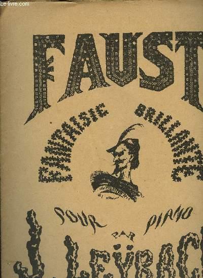 9 FAUST (fragment) /OEUVRES POUR PIANO A QUATRE MAINS