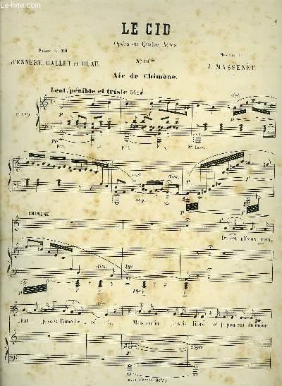 N°10 bis AIR DE CHIMENE piano et chant