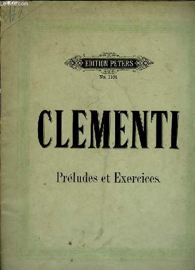 PRELUDES ET EXERCICES N°1101.