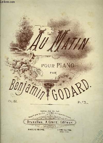 AU MATIN pour piano seul OP.83