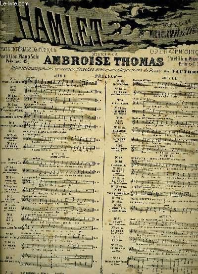 N°19 bis VALSE CHANTEE pour soprano extrait de