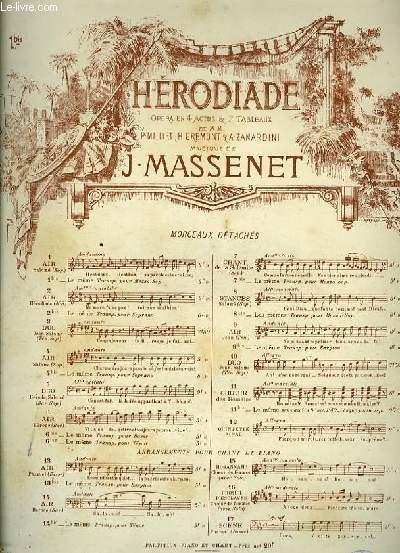 N°1 bis AIR SALOME pour mezzo-soprano