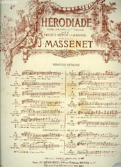 N°4 bis AIR DE SALOME extrait de l'opéra de