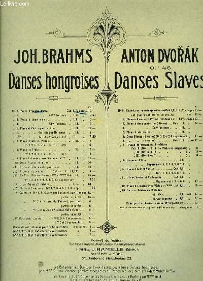 DANSES HONGROISES pour piano à quatre mains CAHIER II
