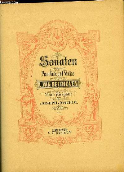 SONATEN für piano forte und violine
