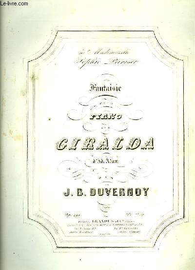 FANTIAISIE POUR PIANO SUR GIRALDA