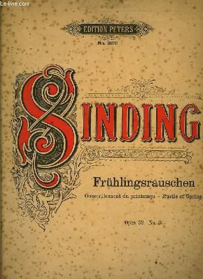 FRUHLINGSRAUSCHEN klavierstück OP.32 N°3