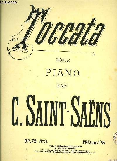 TOCCATA pour piano OP:72. N°3