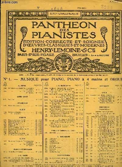 OEUVRES DIVERSES POUR PIANO N°276 MARCHE DU SONGE D'UNE NUIT D'ETE pour piano