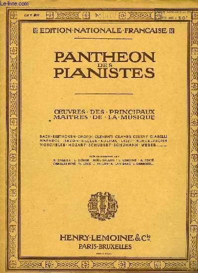 FANTAISIE OP.28 1ère partie EDITION PANTHEON DU PIANISTE