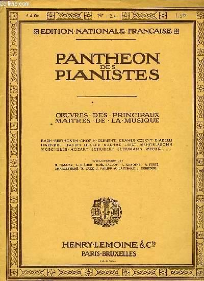 PRESTO extrait de la fantaisie OP.28 EDITION NATIONALE FRANCAISE PANTHEON DES PIANISTES