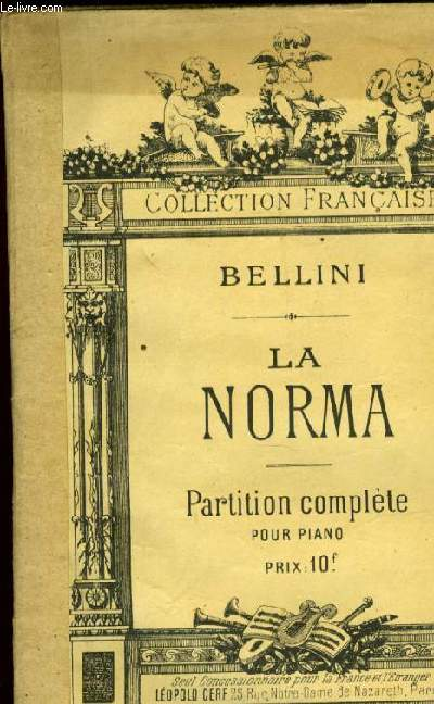 LA NORMA opéra pour piano seul