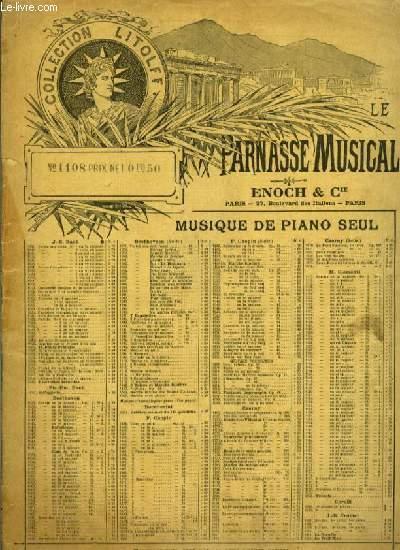 N°12 6 MENUETTE POUR PIANO A DEUX MAINS