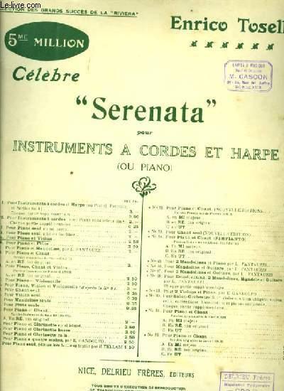 SERENATA pour piano