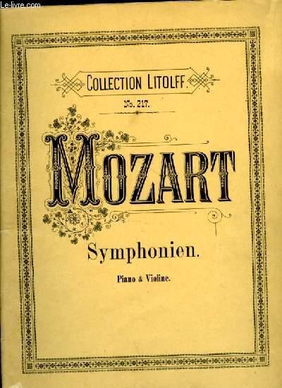 SYMPHONIEN piano & violine COLLECTION LITOLFF