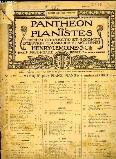 SONATES POUR PIANO N°137 6e EN RE MAJEUR