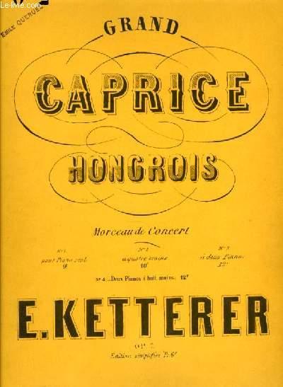 GRAND CAPRICE HONGROIS morceau de concert