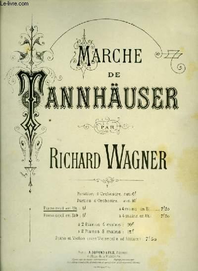 MARCHE DE TANNHAUSER pour piano seul
