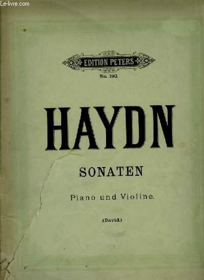 SONATEN piano und violine