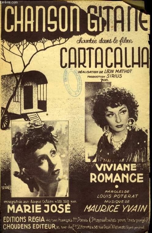 CHANSON GITANE DU FILM CARTACAHLA