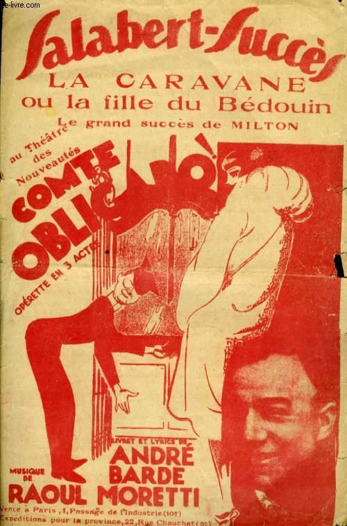 LA CARAVANE OU LA FILLE DE BEDOIN  MOI- Z - ET - ELLE