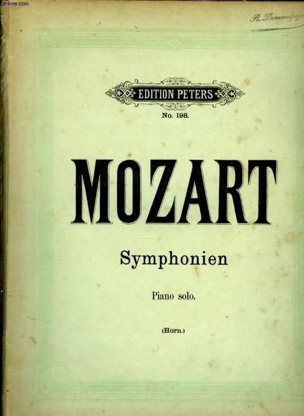 SYMPHONIEN PIANO SOLO