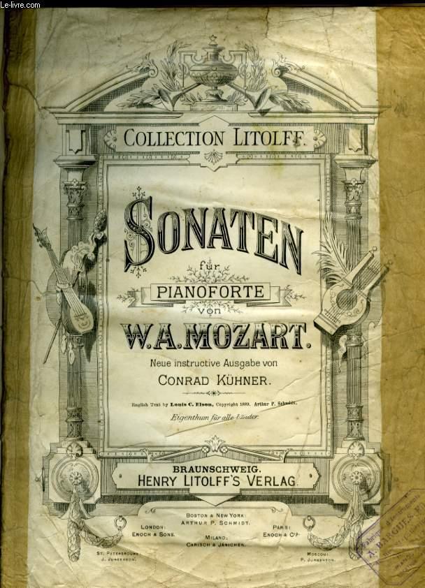 SONATEN FUR PIANOFORTE