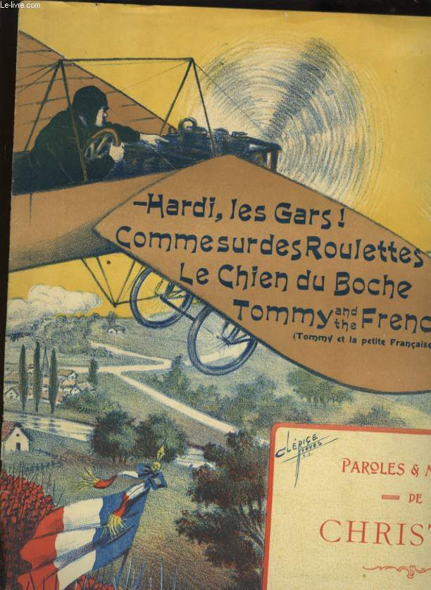 HARDI LES GARS / COMME SUR DES ROULETTES / LE CHIEN DU BOCHE /  TOMMY AND THE FRENCH GIRL ( TOMMY ET LA PETITE FRANCAISE.
