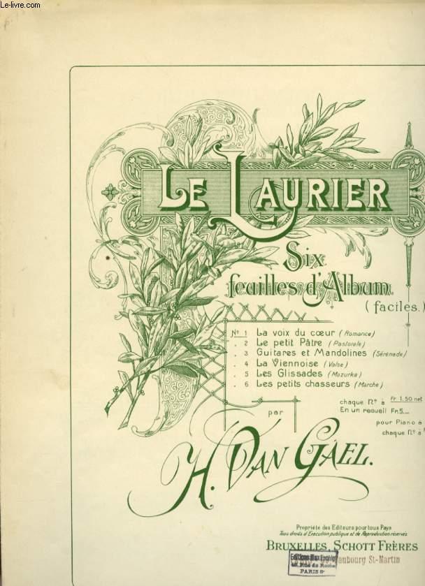 LE LAURIER N°1 LA VOIX DU COEUR.