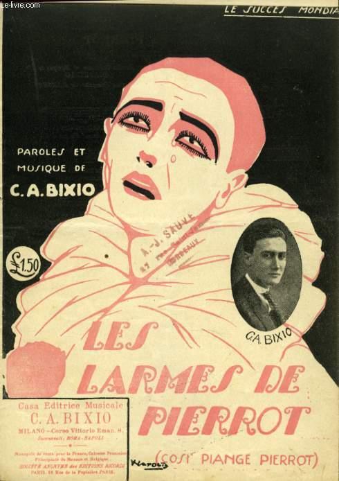 LES LARMES DE PIERROT ( COSI PIANGE PIERROT)