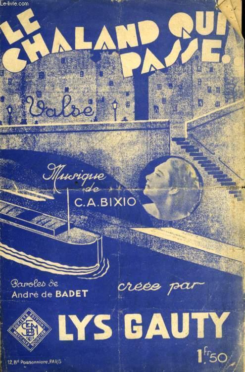 LE CHALAND QUI PASSE ( PARLAMI D'AMORE MARIU)