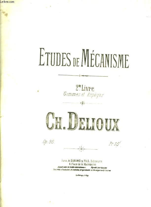 ETUDES DE MECANISME