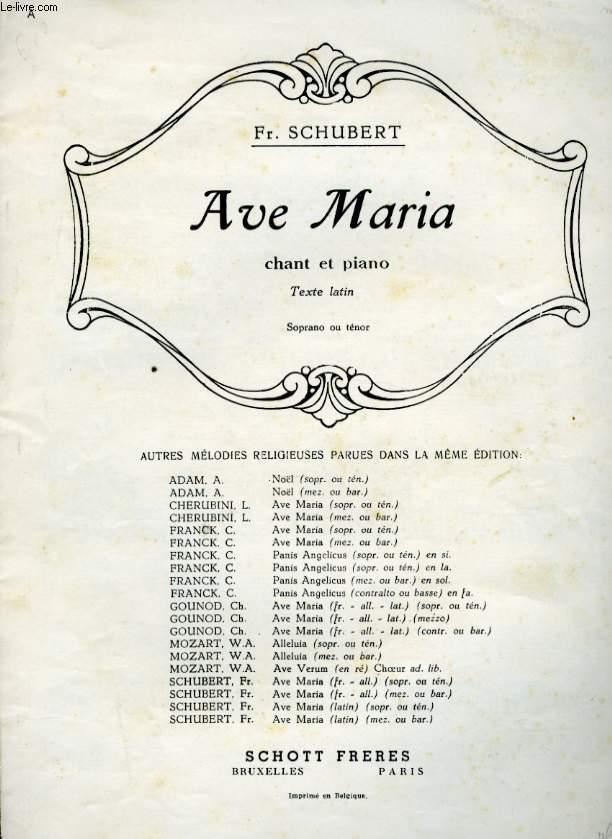 AVE MARIA ( HYMNE AN DIE JUNGFRAU)