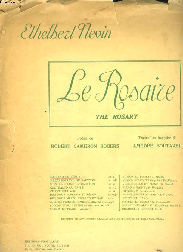 LE ROSAIRE ( THE ROSARY)