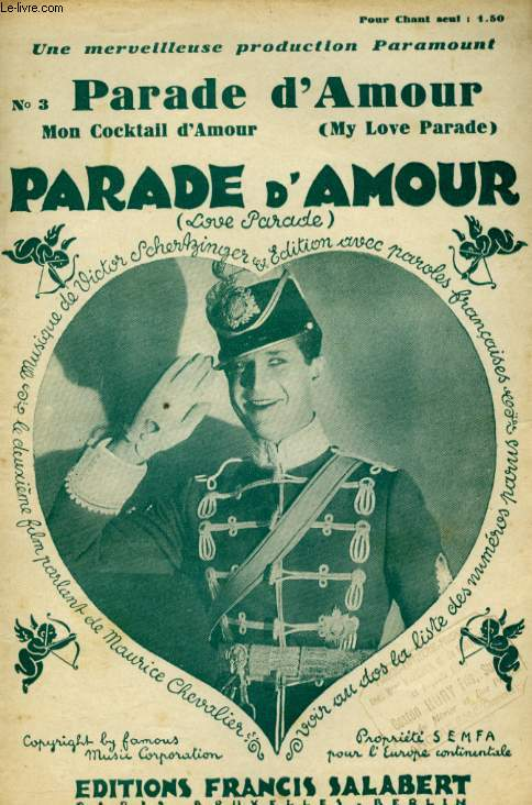 PARADE D'AMOUR ( MY LOVE PARADE)