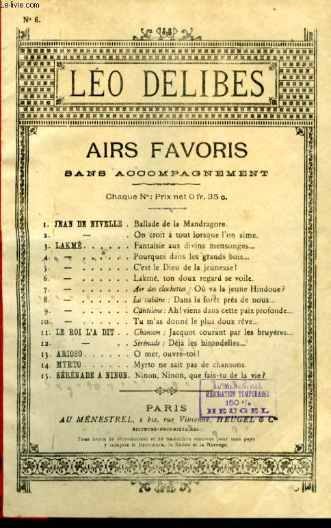 AIRS FAVORIS N°6 LAKME TON DOUX REGARD SE VOILE