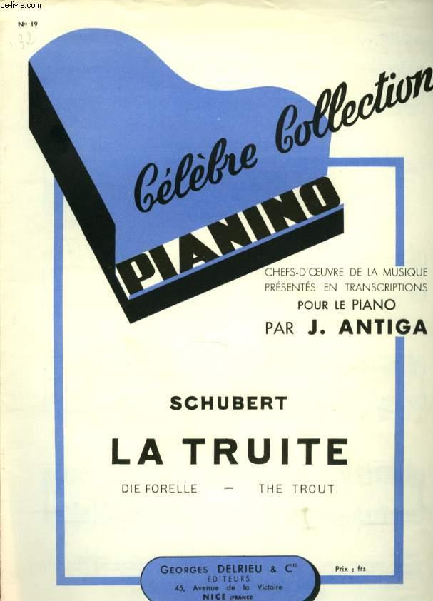 CELEBRE COLLECTION PIANINO LA TRUITE