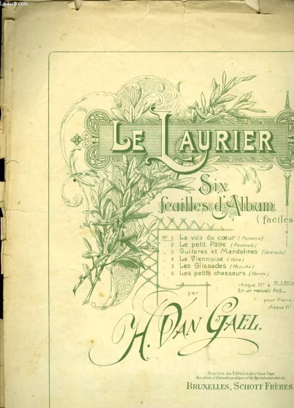 LE LAURIER SIX FEUILLES ALBUM N° 1 LA VOIX DU COEUR