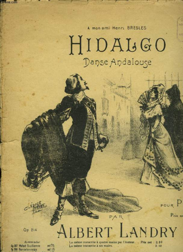 HIDALGO DANSE ANDALOUSE