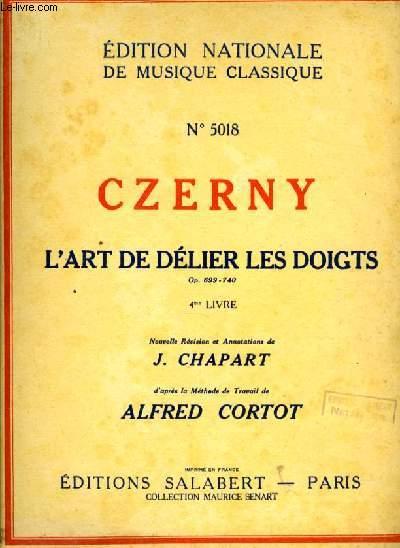 L'ART DE DELIER LES DOIGTS - 4me LIVRE