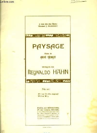 PAYSAGE N° 2