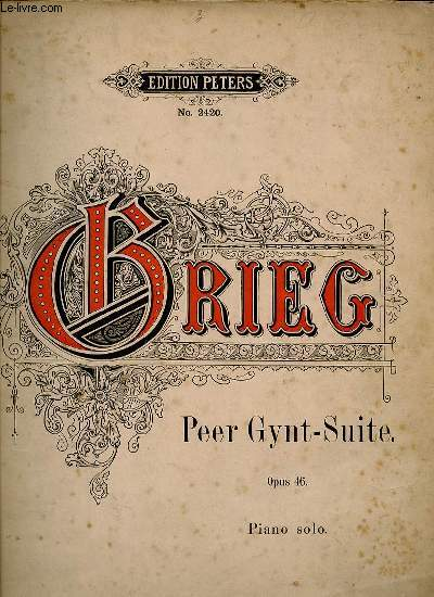 3 Bände • Piano Solo Edvard Grieg Complete Edition 1843-1907
