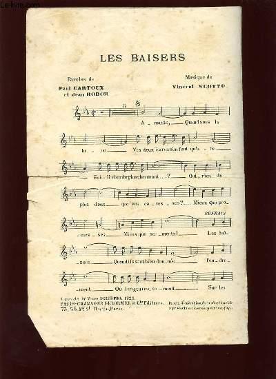 LES BAISERS.