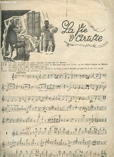 LA VIE D'ARTIFTE / BONBONS DE VIENNE / REVE DE PRINTEMPS / LE TRESOR VALSE / LE BEAU DANUBE BLEU / ROSES DU MIDI / SANG VIENNOIS / AIMER BOIRE ET CHANTER / LEGENDE DE LA FORET / FEUILLES DU MATIN / LA VALSE DE L'EMPEREUR.