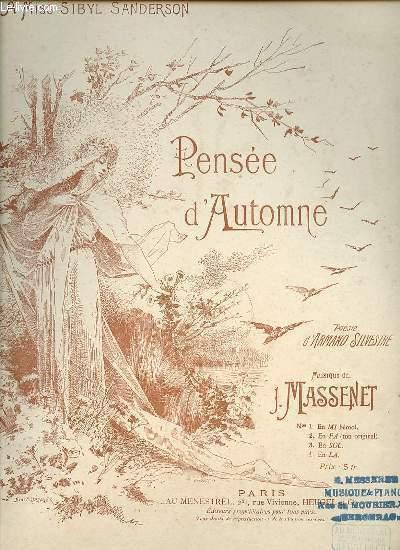 PENSEE D'AUTOMNE.