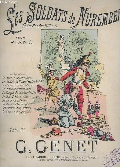 LES SOLDATS DE MUREMBERG - PETITE MARCHE MILITAIRE - PIANO.